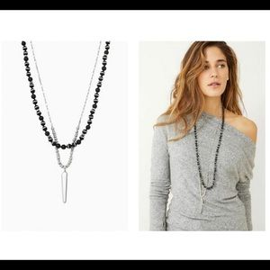 STELLA & Dot Rayna double strand 4 in 1 necklace